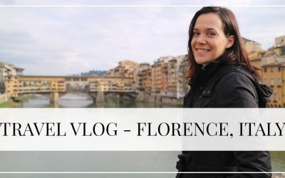 Travel Vlog – Florence, Italy!