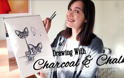 How To Draw With Charcoal and Chalk