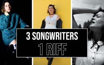 3 Songwriters Write 3 Songs Using 1 Riff